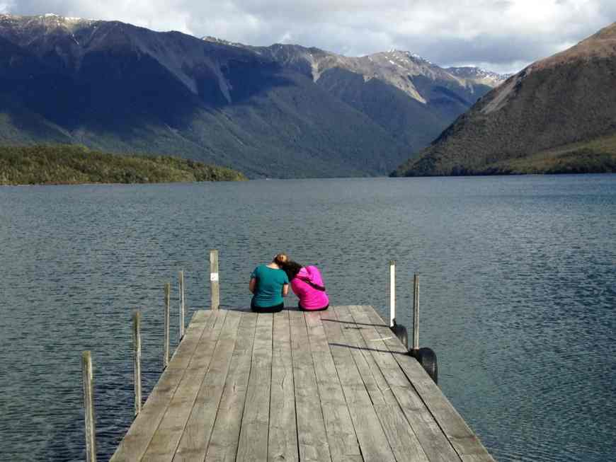 Beautiful views of Lake Roitoiti are one of the perks of hiking in Nelson Lakes National Park