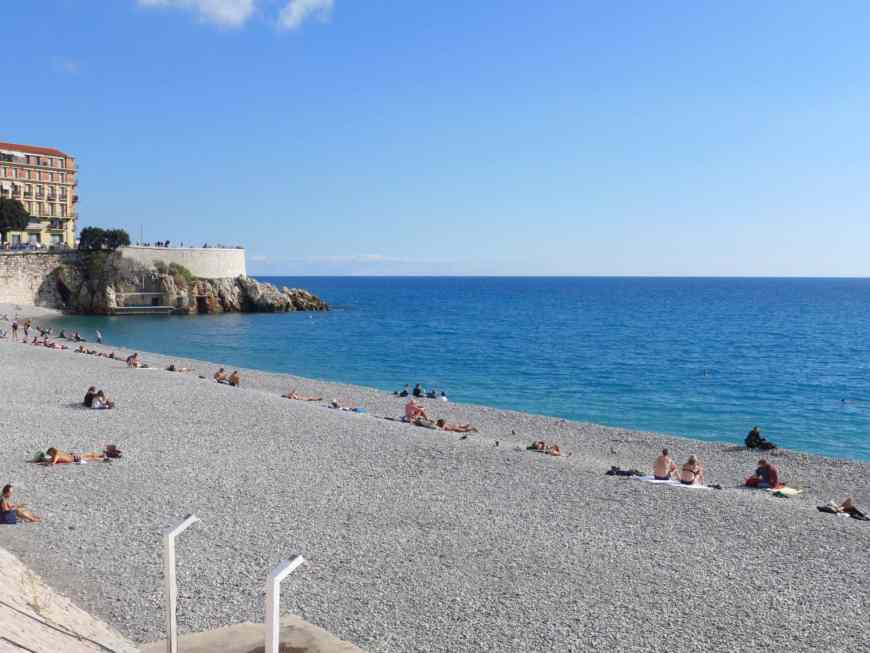 Nice's gorgeous beach is just one of the many things this vibrant city has to offer...how to spend a charming few hours on the French Riviera
