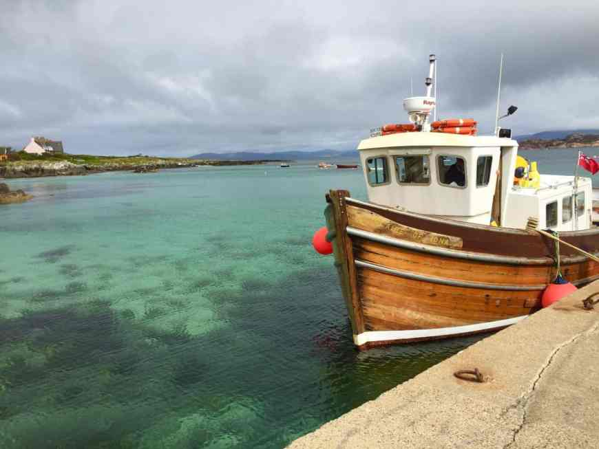 The Isle of Iona is a perfect place to visit Staffa (and the Cave of Melodies) from, and is a gorgeous and peaceful destination all on its own #scotland