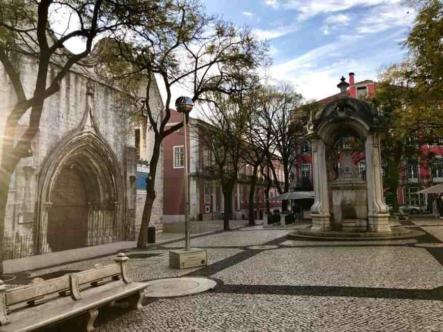 Early morning at Lisbon's Carmo Convent   10 things that have to be on your Lisbon itinerary   24 hours in Lisbon   1-day lisbon itinerary   Lisbon travel tips   Portugal itinerary ideas