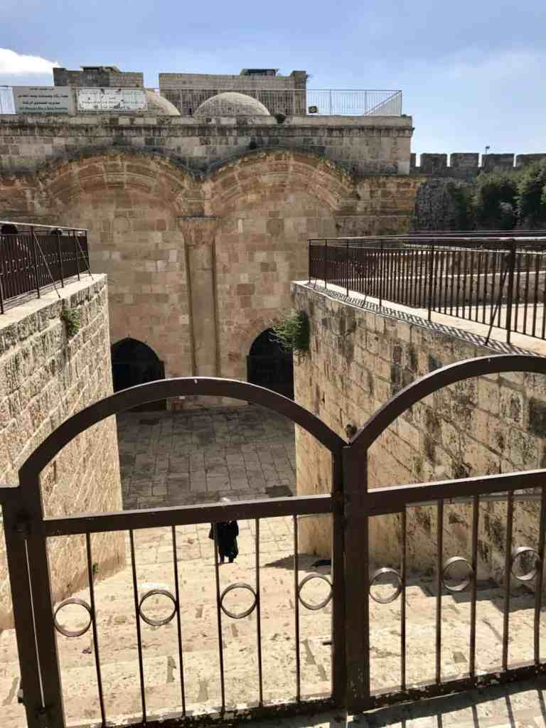 The Golden Gate has a cool historical backstory   How to visit the Temple Mount, Dome of the Rock, & Western Wall in Jerusalem   Jerusalem trip planning & itinerary ideas, what to do in Israel, and tips for visiting Jerusalem's Old City #templemount #jerusalem #israel