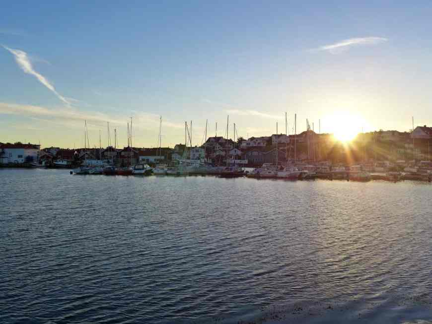 Sunrise on Björkö while sailing the Gothenburg archipelago in Sweden...how to rent a sailboat on Airbnb & sail in Sweden, planning your trip, including Björkö, Marstrand, & Grötto. Sweden itinerary ideas & trip planning advice. #sweden #airbnb