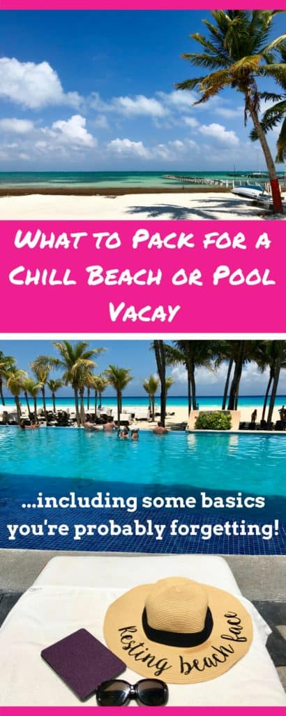 Everything You Need On Your Beach Packing List One Girl
