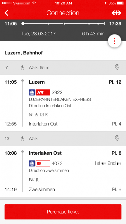 How to plan your Golden Pass train trip between Geneva & Luzern...timing, routes, advice, & more!