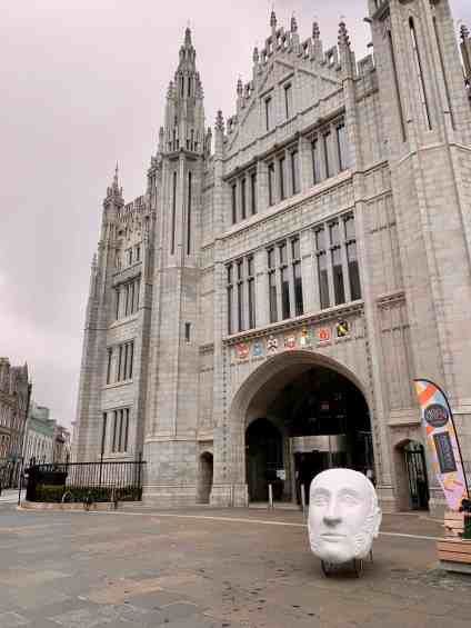Cool and beautiful Marischal College - things to do in Aberdeen