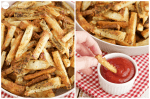 the secret to crispy fries