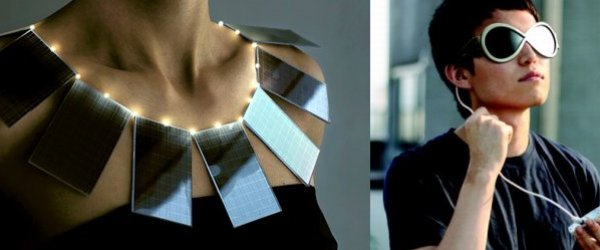 SOLAR FASHION CLOTHES GADGET