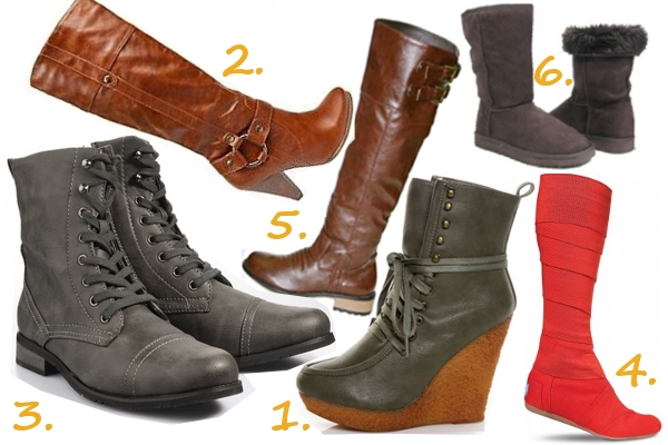 Vegan Fall Boots
