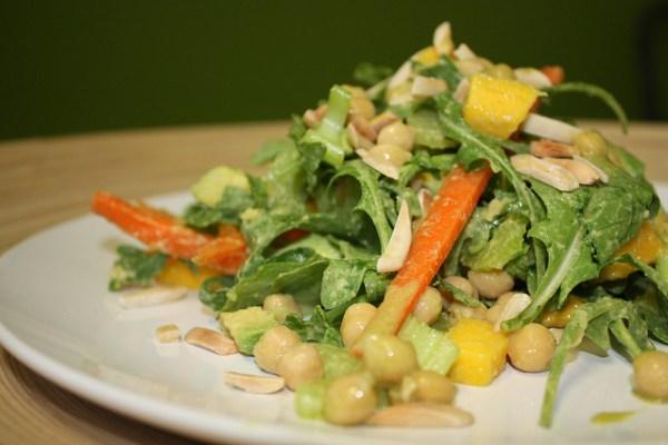 avocado arugula salad pregnancy healthy eating birth defects