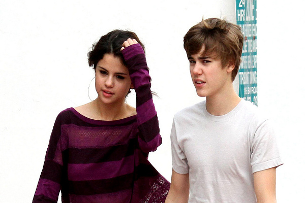 justin Bieber Selena Gomez adopt a dog
