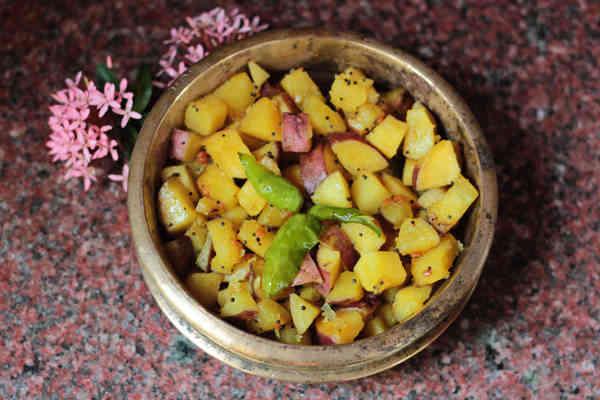 Spicy Indian Sweet Potato