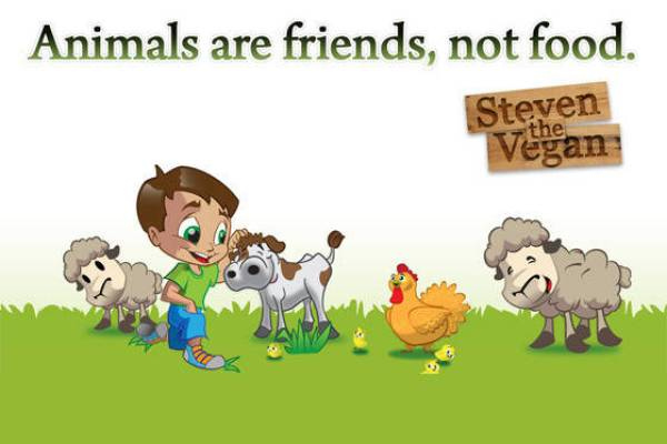 steven the vegan childrens book