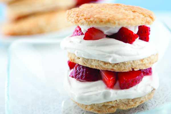 Recipe: Strawberry Shortcakes with a Coconut Whipped Cream Topping