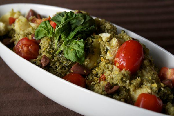 Recipe: Pistachio Pesto Quinoa