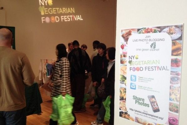 NYC Vegetarian Food Festival 2012: Top 5 From Day One!
