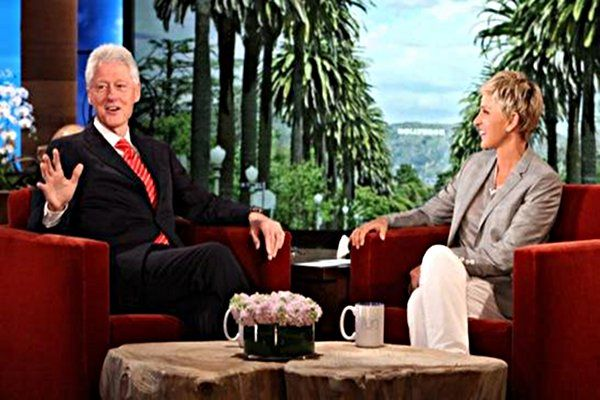 WATCH: Bill Clinton Talks Eating Vegan on the Ellen Show