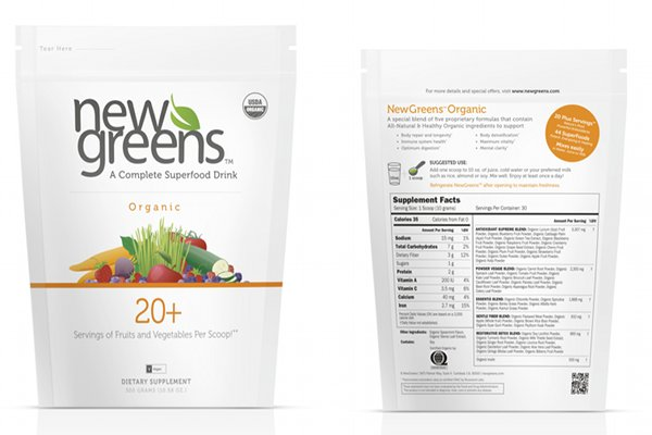 Product Review + Giveaway: NewGreens Organic Superfood