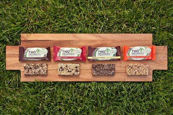 Product Review + Giveaway: Two Degrees Food Bars
