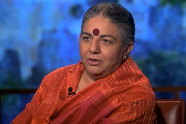 WATCH: Scientist Vandana Shiva on GMOs and the Food System