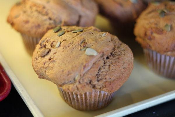 Recipe: Pumpkin Nut Muffins