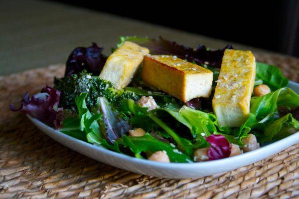 Recipe: Sesame Tofu + Broccoli Salad
