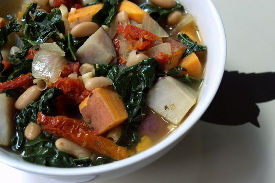 Recipe: Winter Potato, White Bean & Kale Soup