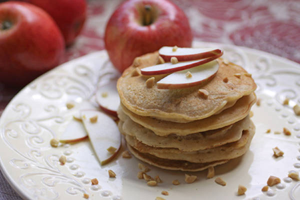 Apple-Almond-Pancakes