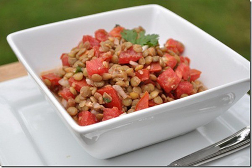 Spicy-Lentil-Salad