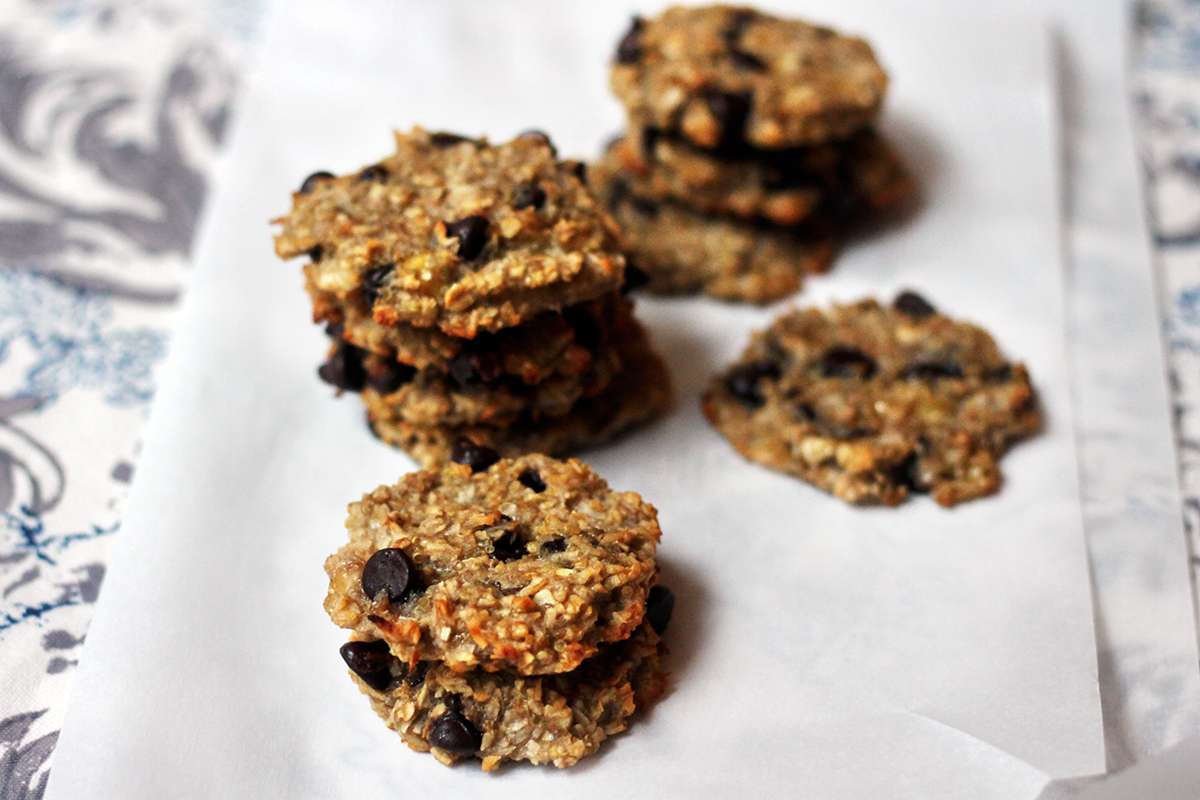 Quinoa Chocolate Chip Cookies (Vegan, Gluten-free)
