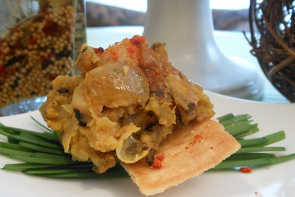 Morrocan-Grilled-Eggplant-Onion-and-White-Bean-Spread