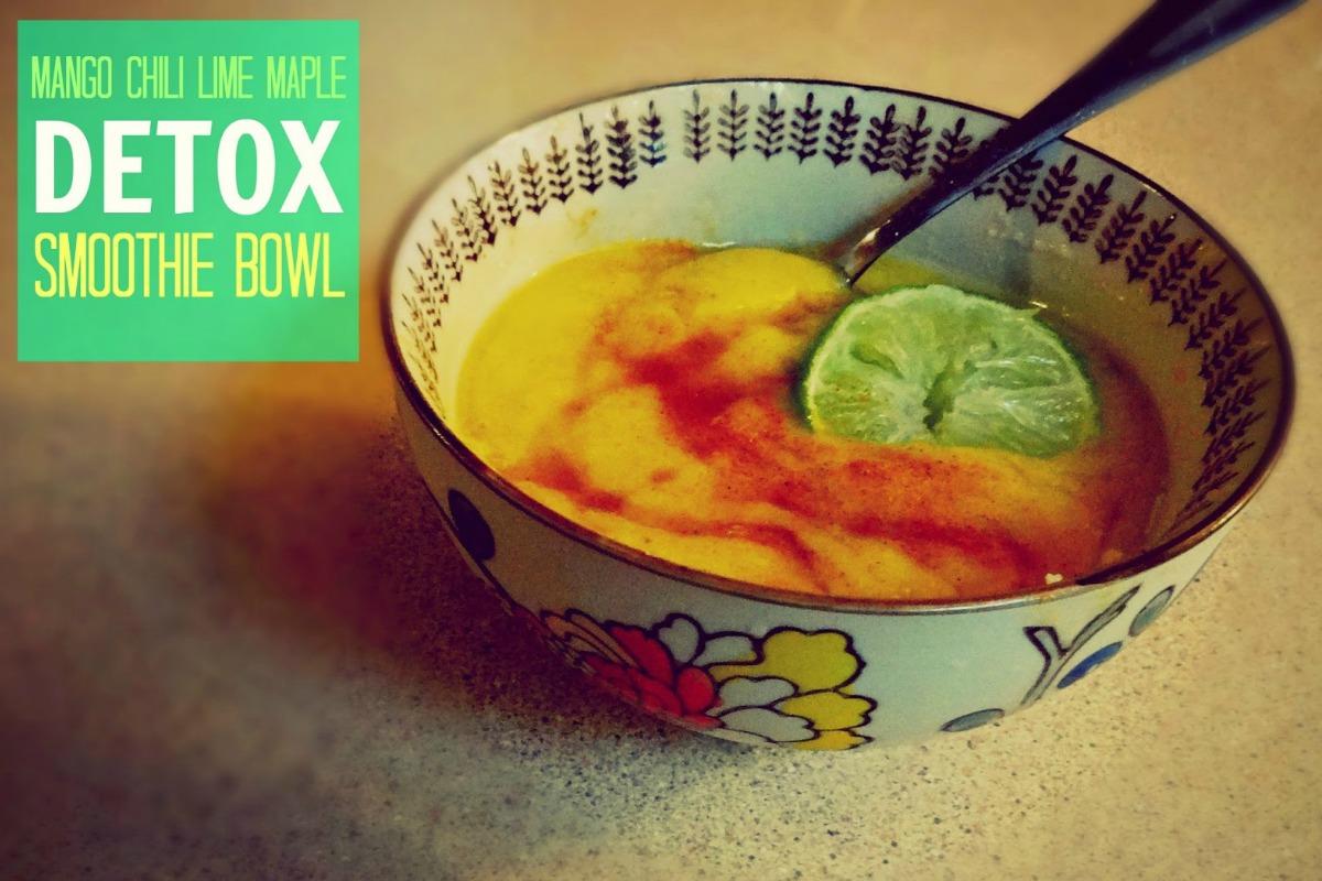 Exotic Detox Smoothie Bowl [Vegan, Raw, Gluten-Free]