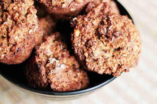 Banana-Peanut-Butter-Muffins