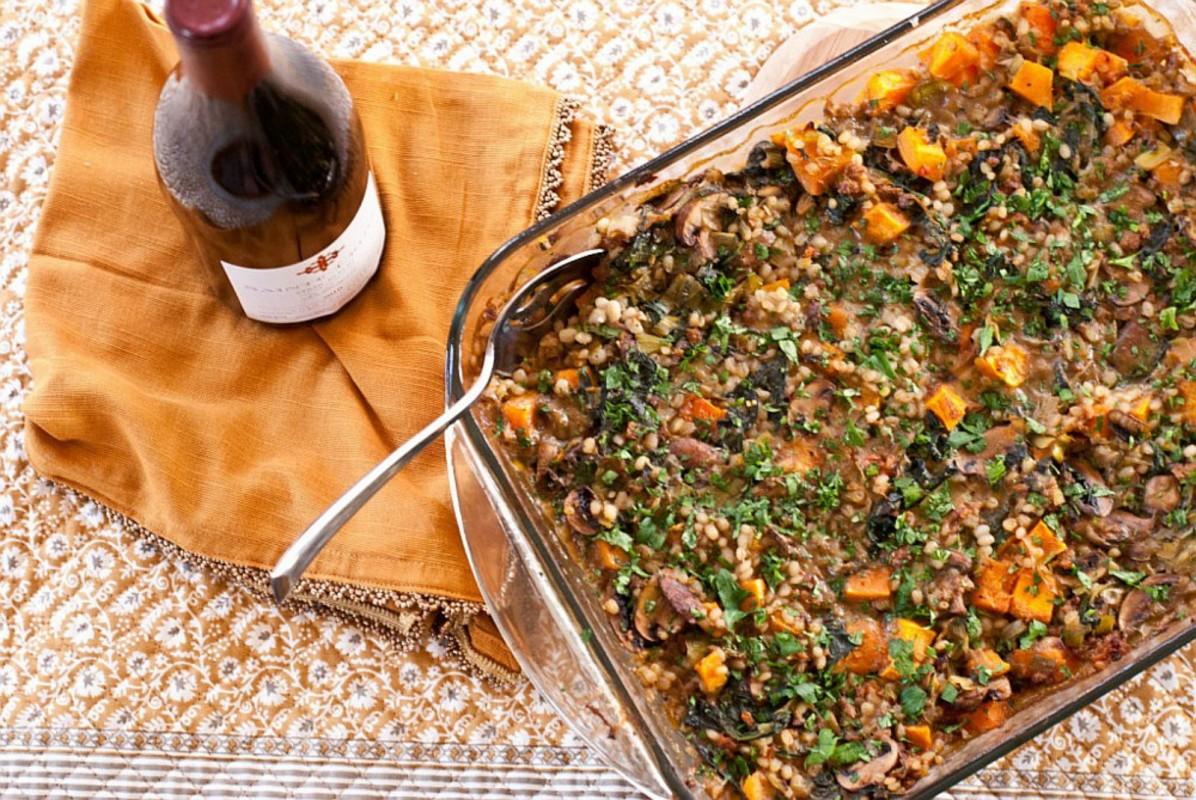 Butternut-Squash-Portobello-and-Spinach-Casserole-with-Vegan-Sausage-1196x800