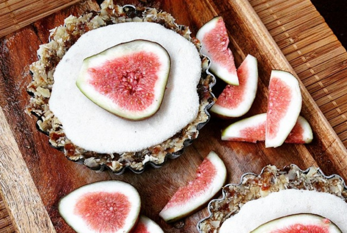 lemon and fig tarts