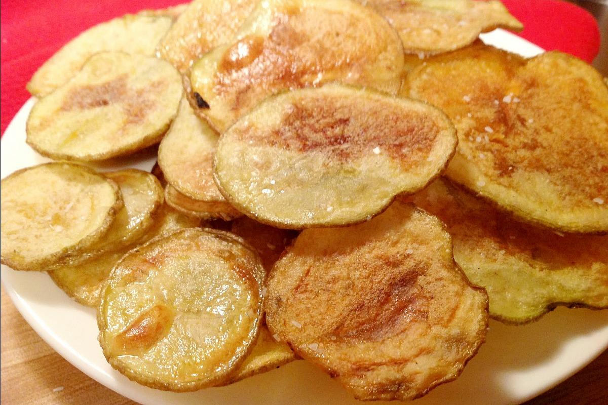 1 Homemade Baked Potato Chips