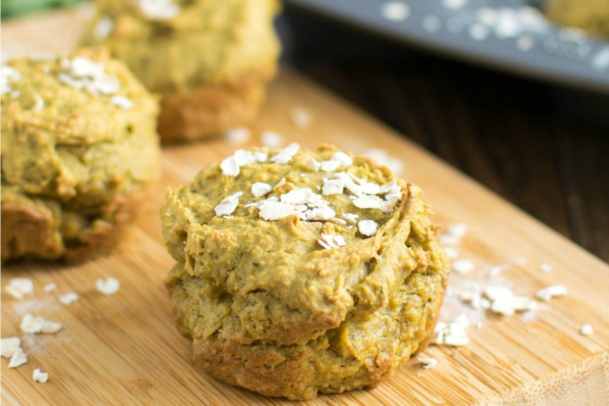 Savory Kale Oatmeal Cups [Vegan, Gluten-Free]