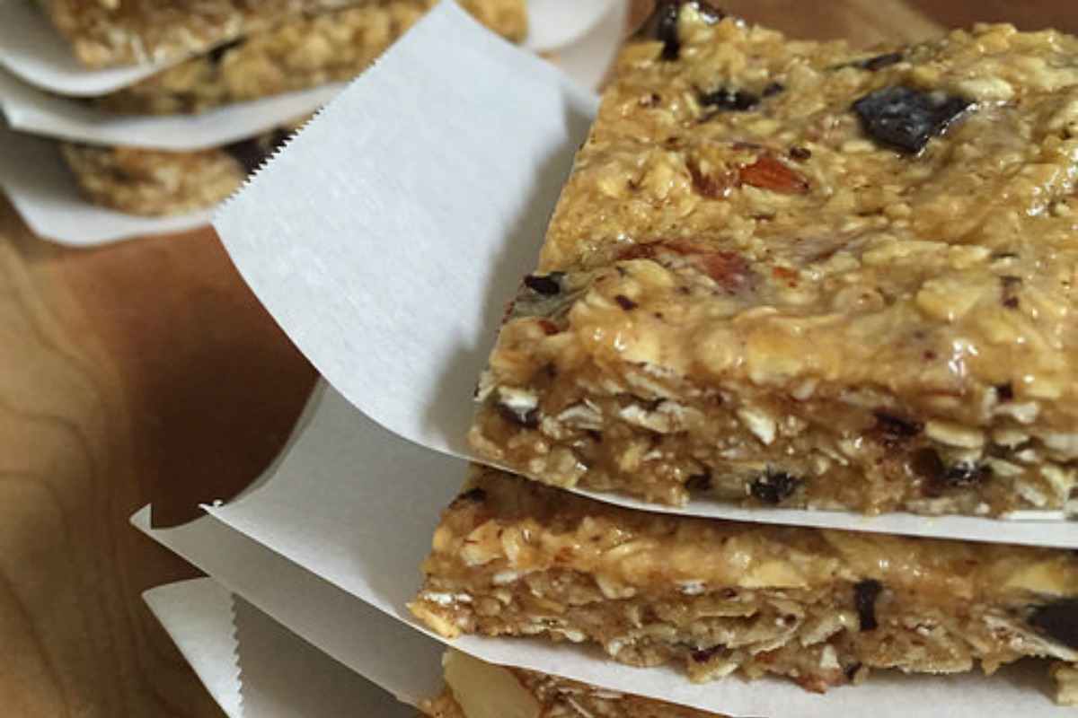 No Bake Breakfast Granola Bars [Vegan, Gluten-Free]