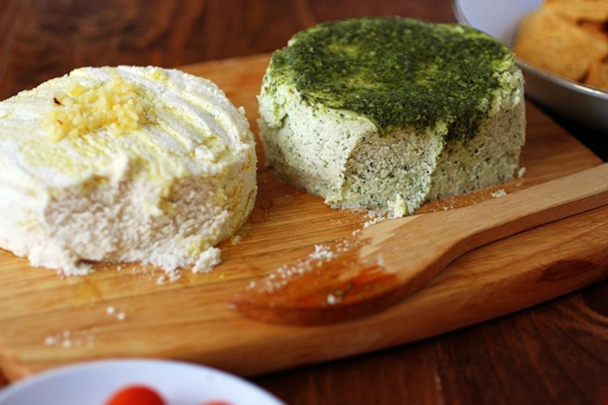 Spreadable Almond Cheese 3 Ways [Vegan, Gluten-Free]