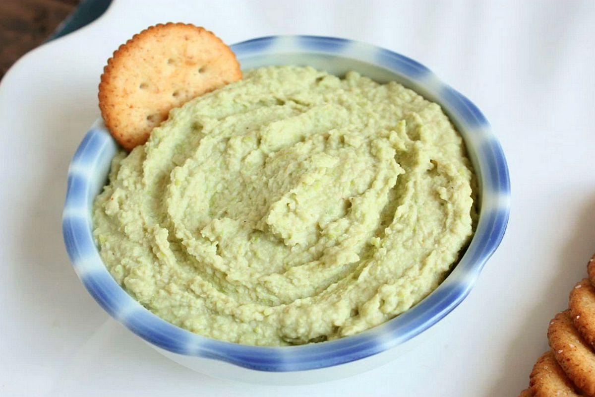 Edamame Wasabi Bean Dip [Vegan, Gluten-Free]