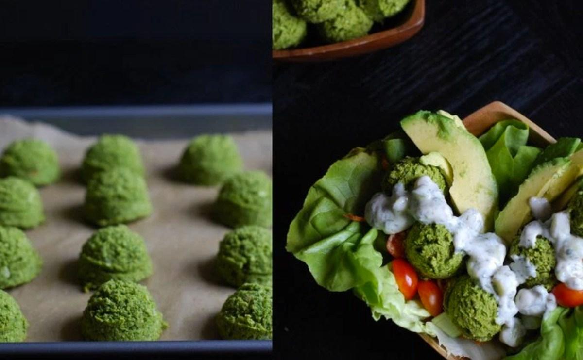 Super Green Falafel [Vegan, Gluten-Free]