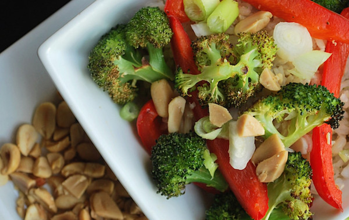 Thai Peanut Burrito Bowls [Vegan, Gluten-Free]