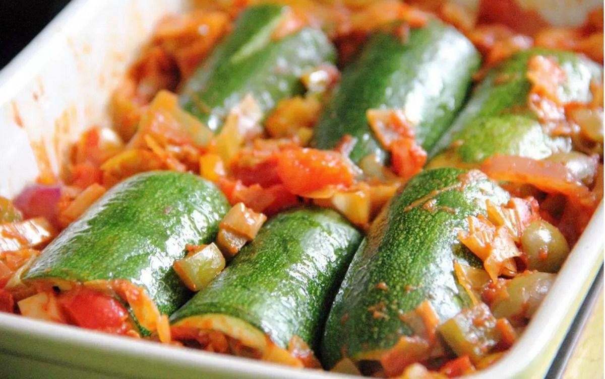 Zucchini Cannelloni [Vegan, Gluten-Free]