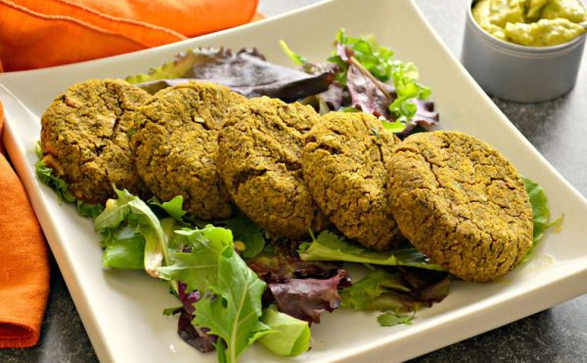 Baked Sweet Potato and Walnut Falafel [Vegan, Gluten-Free]