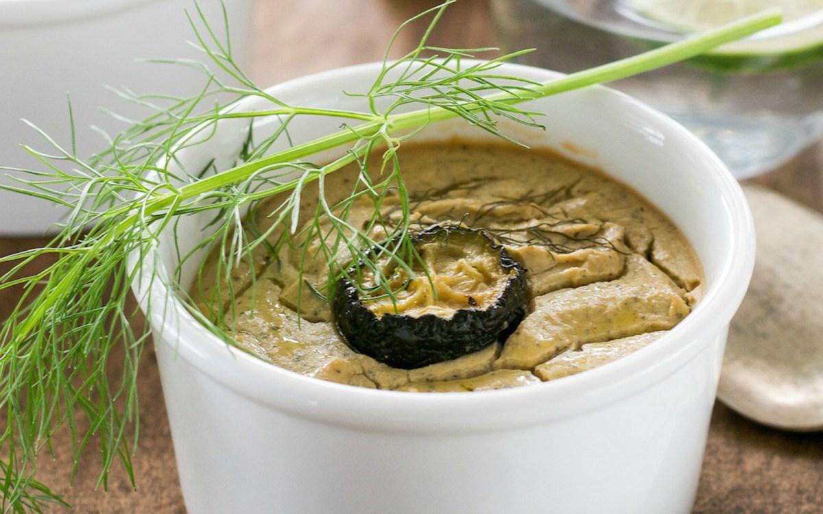 Roasted Fennel, Zucchini, and Garlic Souffle