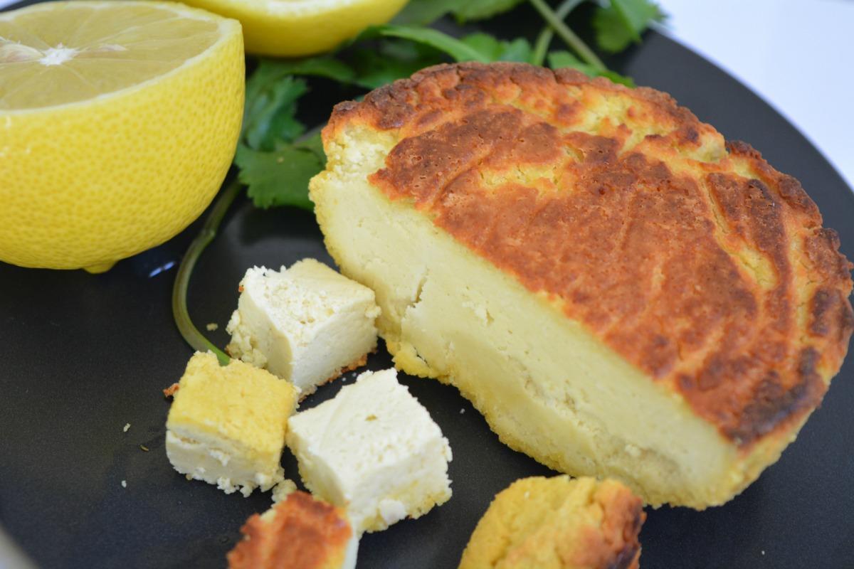5 Ingredient Vegan Almond Feta Cheese