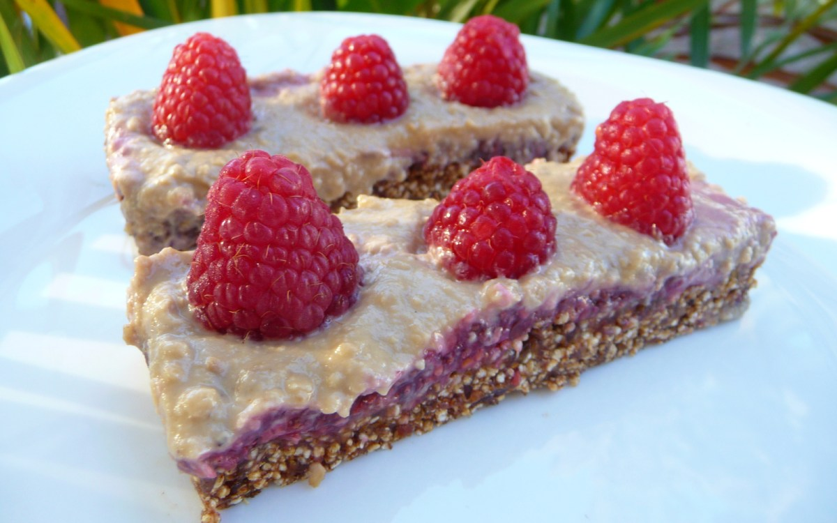 Transcendent Raspberry Cream Bars
