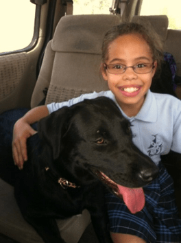 Organization helps to match dogs with families of children with autism