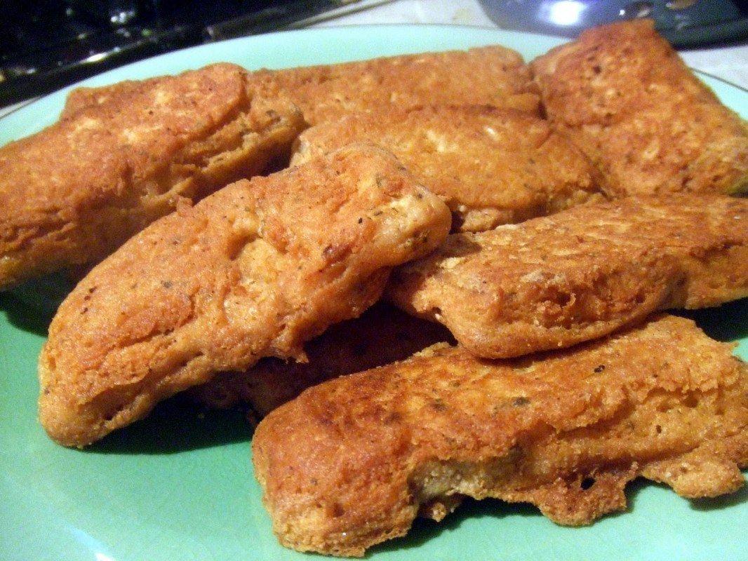 tempeh fish n chips