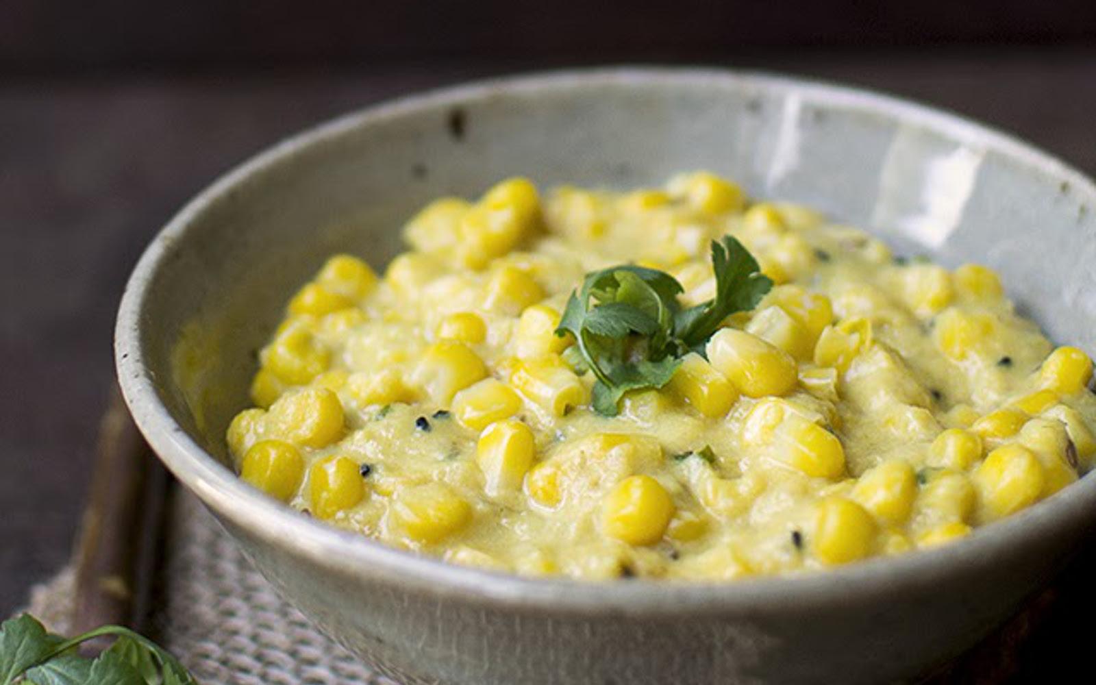 rajisthani corn curry