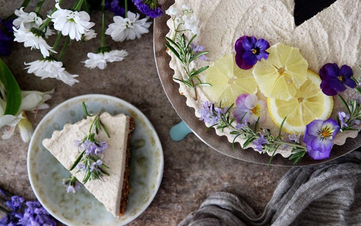 Raw Lemon Cheesecake 1